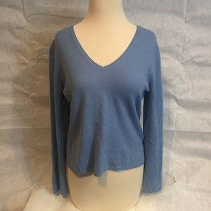 [Ann Taylor] V Neck 100% Cashmere Sweater